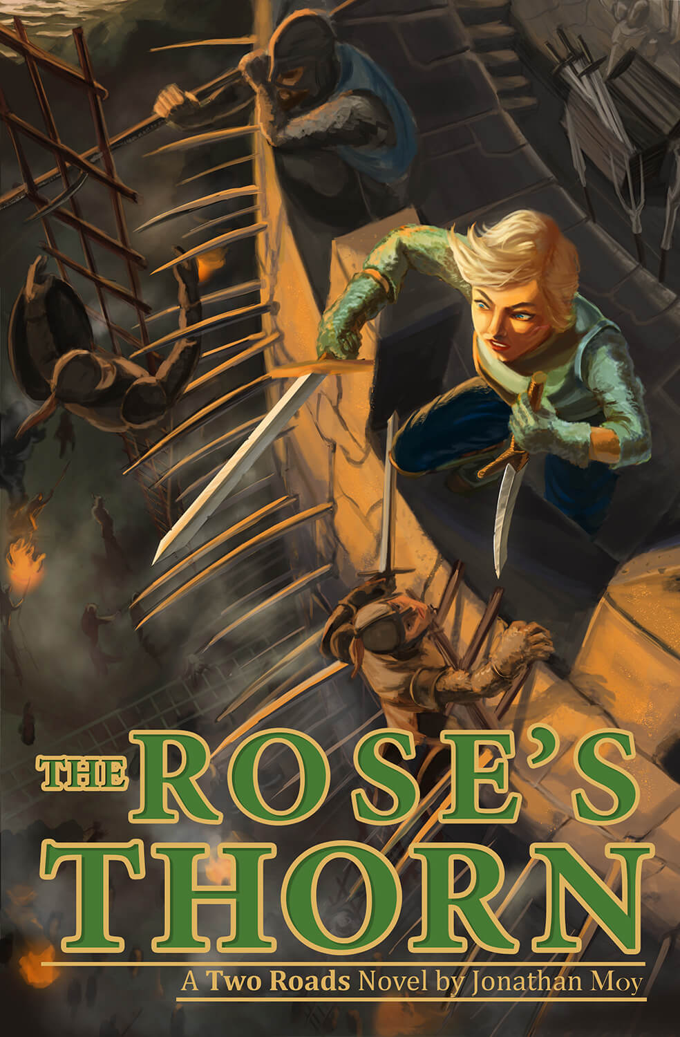 Rose's Thorn Book Cover